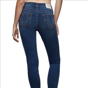 True Religion Low Rise Skinny Ankle Jeans